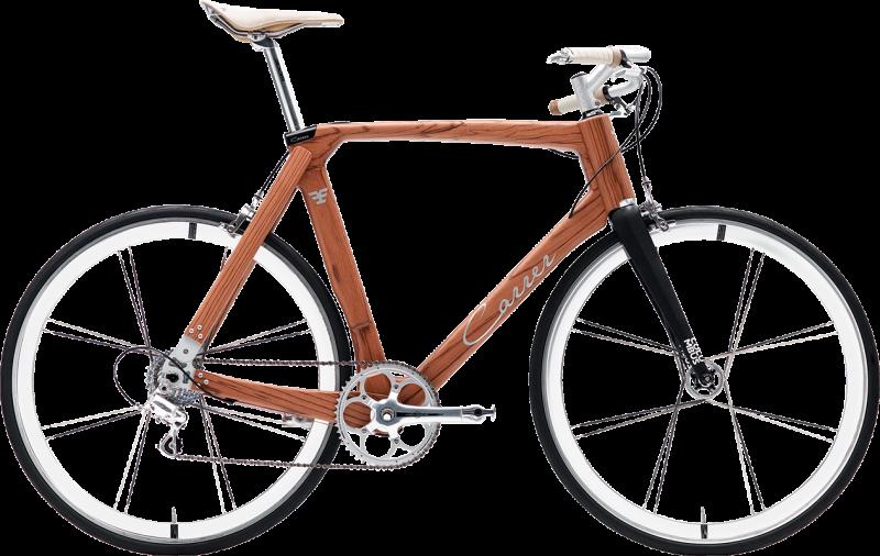 Green bike col telaio in legno Bibione