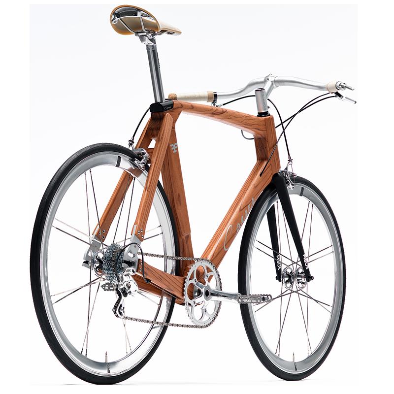 Bicicletta Carrer di design ecologica e in legno