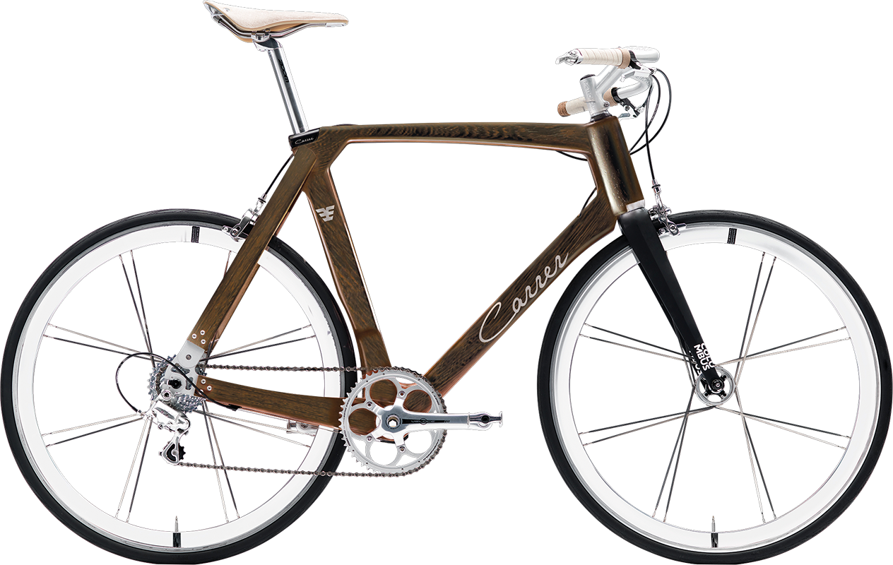 city bike elegante Carrer