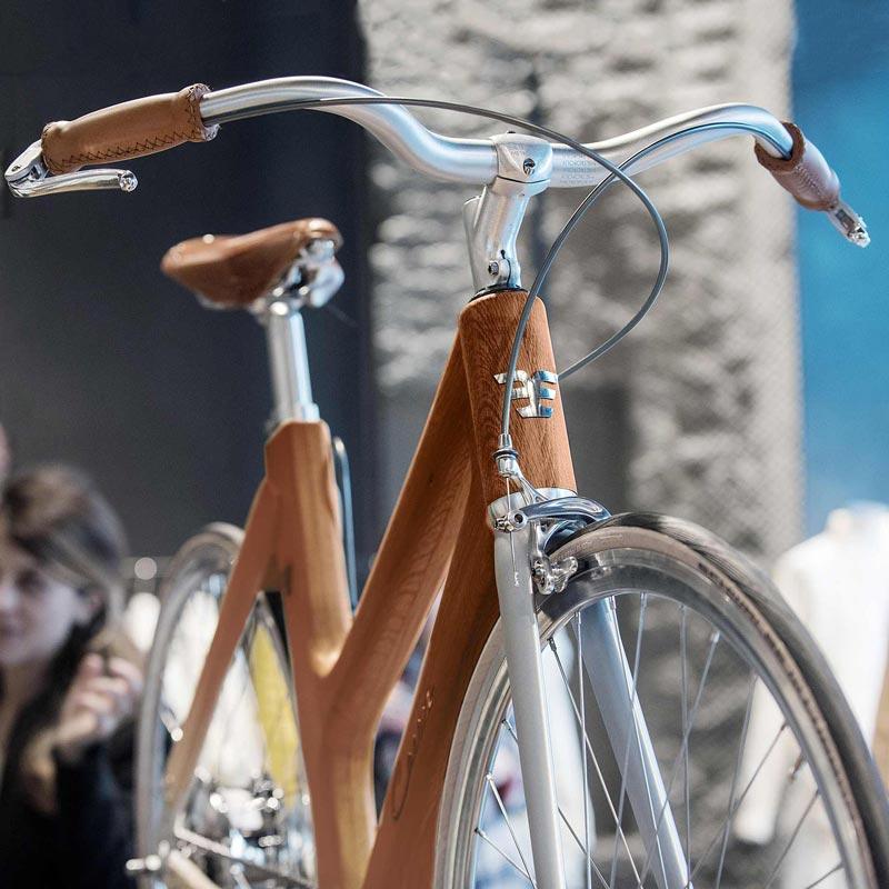 Bicicletta italiana manubrio Metropolis CarrerBikes Venezia