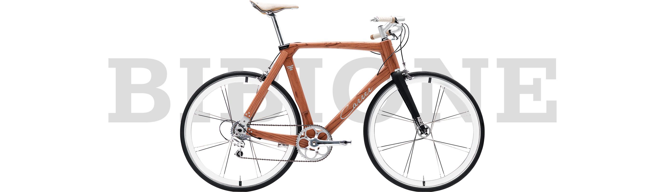 bicicletta Carrer di design modello Bibione