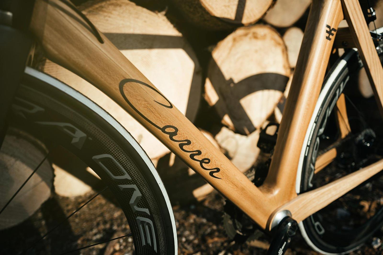 Telaio in legno bicicletta Maranello di CarrerBikes