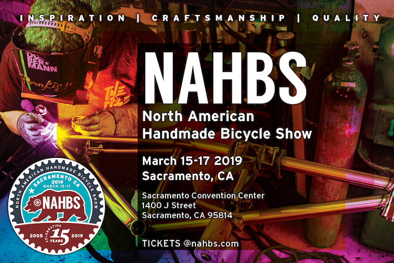 NAHBS fiera biciclette artigianali