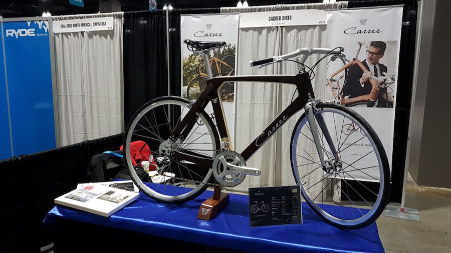 North American Handmade Bicycle Show with CarrerBikes italian bike