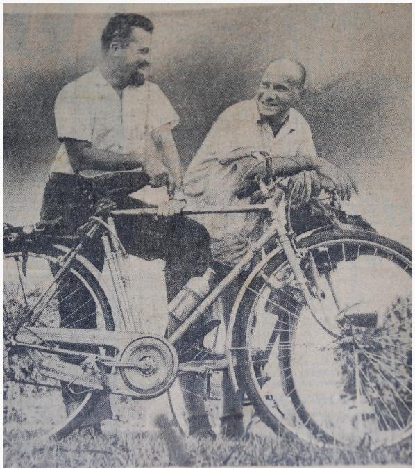 Storia di un epico viaggio in bicicletta