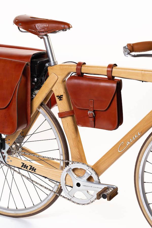 e bike artigianale di stile