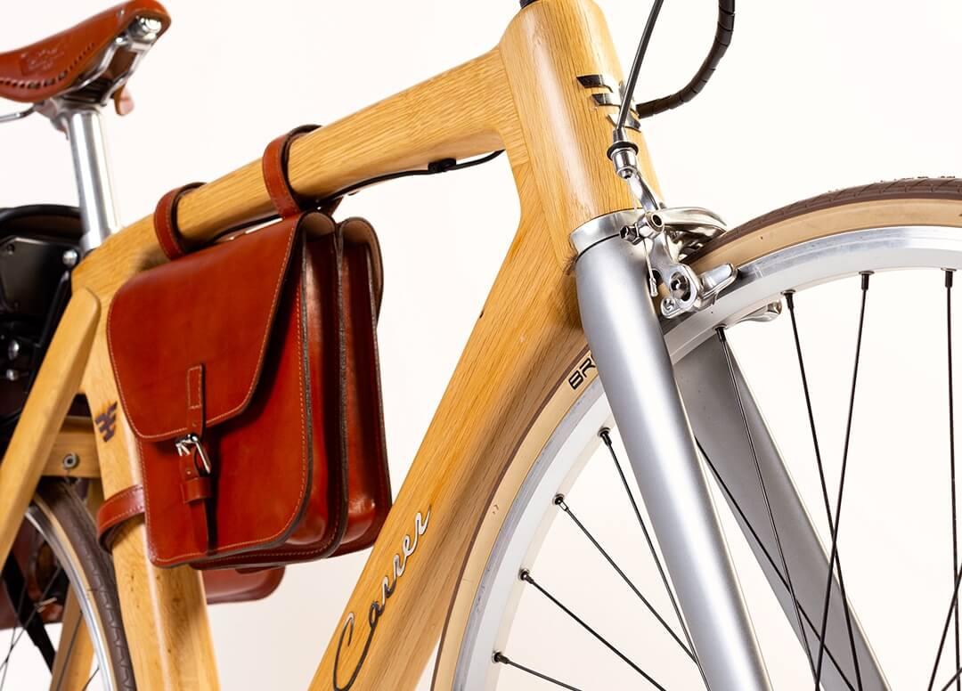 bicicletta artigianale con motore elettrico Altmann